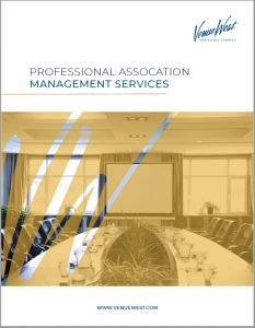 Venue West Conference Services - Association Management -AMC brochure