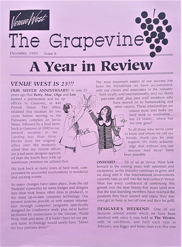 Our Story - Grapevine 1995
