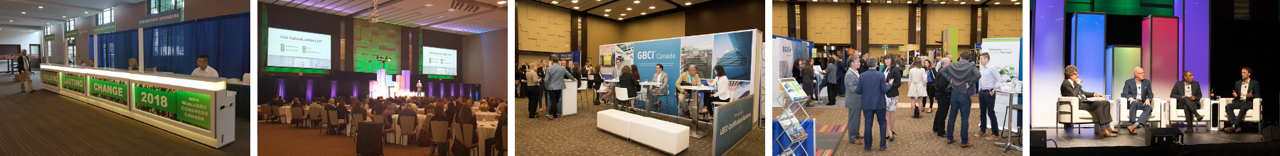 Venue West Conference Services - Past Events - CaGBC 2018