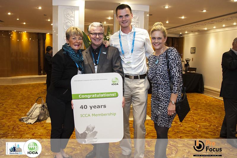 Venue West 40 years ICCA Member